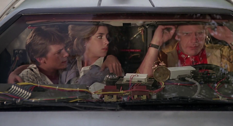 back to the future back speedometer